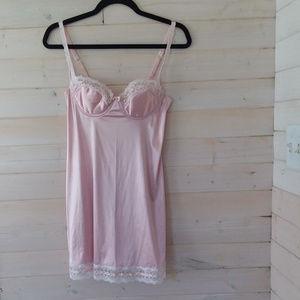 VINTAGE VICTORIA'S SECRET pink lingerie